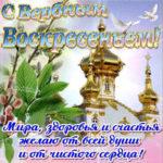 Бесплатно открытки Вербное воскресенье